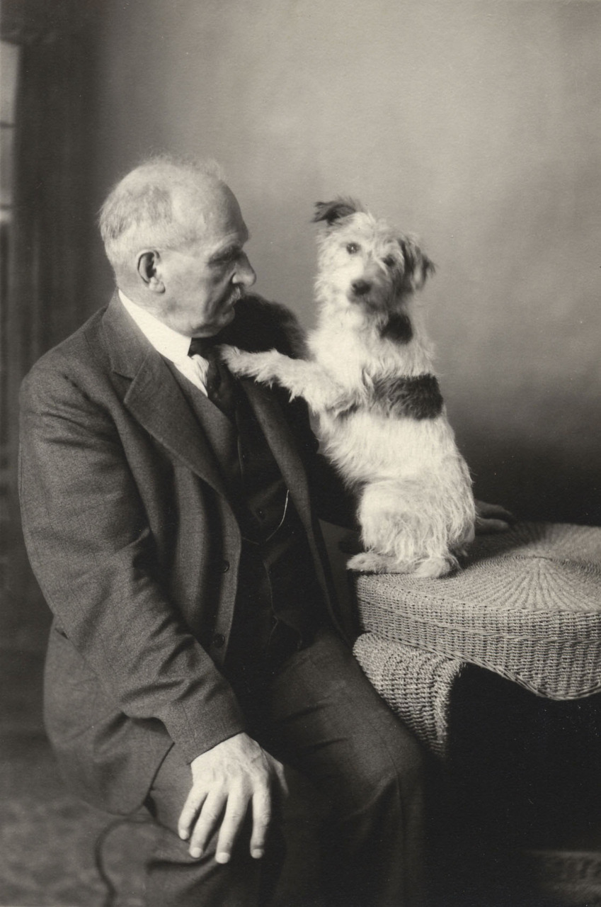 Dr. R.G. Scott and Friend